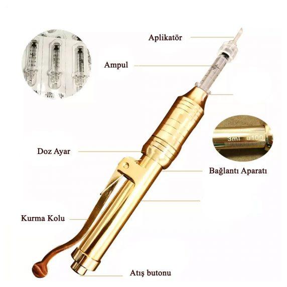 hyoloron pen 572x572 - İğnesiz Enjeksiyon Cihazı