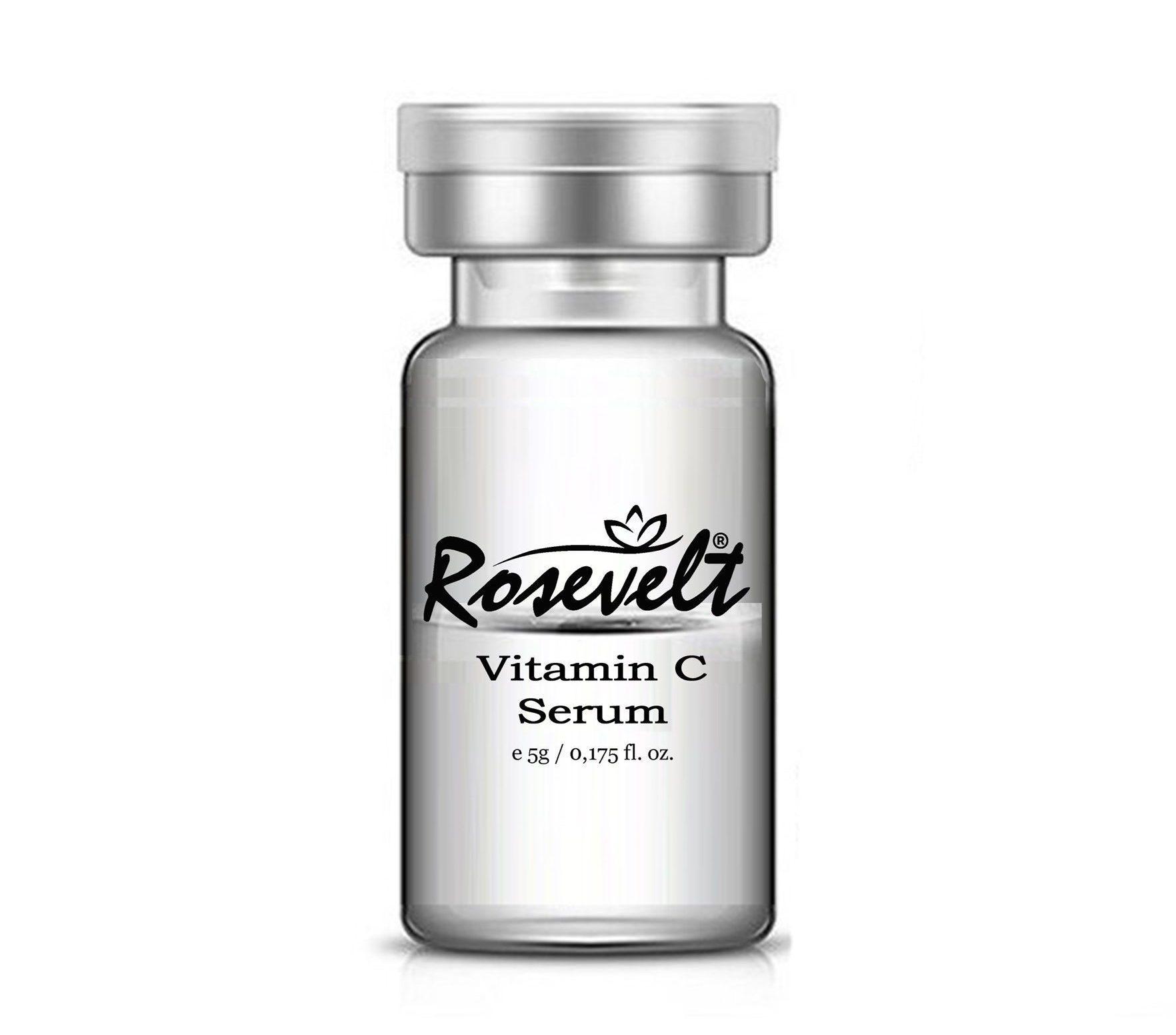 3a46c35815ce4360aec64eb2f50187fd e1615672852971 - Rosevelt C Vitamin Complex Serum Kutu 5 Ml X 10 Ad Dermaroller Dermapen Serisi