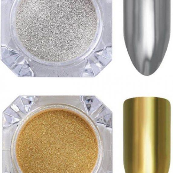 ebc8878ac6d44317a37cfb03cdd88a23 572x572 - Gümüş Renk Nail Art Tırnak Süsleme Farı Tırnak Farı